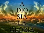 a Dio sia la Gloria copia