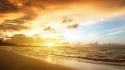 Sunrise-in-Carebbean-sea
